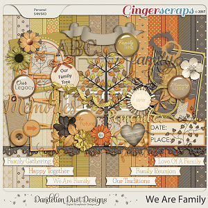 We Are Family By Dandelion Dust Designs
