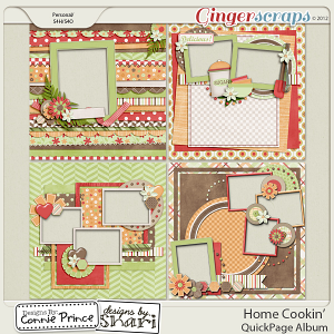 Retiring Soon - Home Cookin' - QuickPage Album