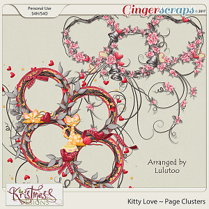 Kitty Love Page Clusters