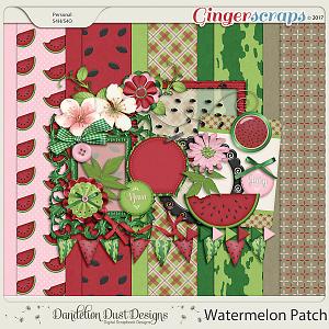 Watermelon Patch Digital Scrapbook Kit By Dandelion Dust Designs