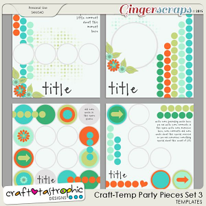 Party Pieces Set 3 by Craft-tastrophic