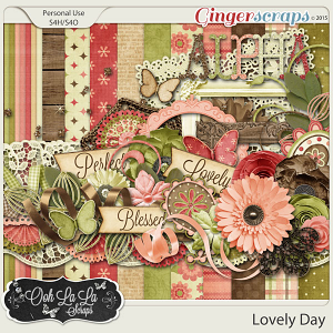 Lovely Day Digital Scrapbook Kit