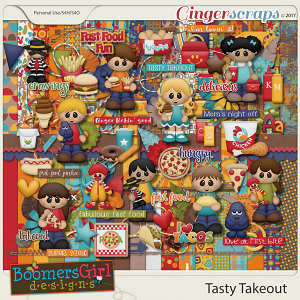 Tasty Takeout by BoomersGirl Designs