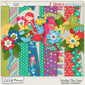 Under The Sea - Border Clusters