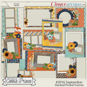 #2016 September - Stacked Pocket Frames
