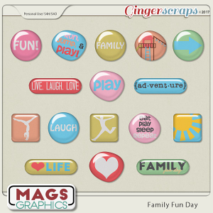 Family Fun Day FLAIR by MagsGraphics