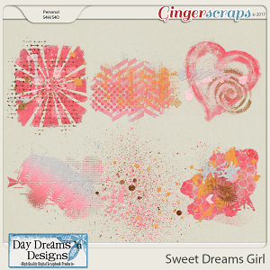 Sweet Dreams Girl {Paint} by Day Dreams 'n Designs