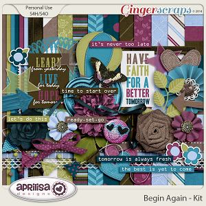Begin Again - Kit by Aprilisa Designs