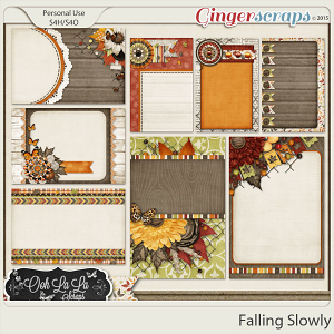 Falling Slowly Journal and Pocket Scrap Cards