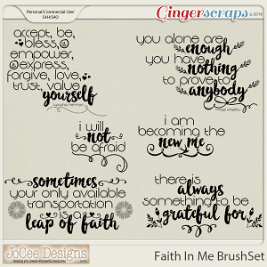 Faith In Me Brush Set