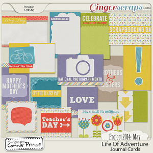 Retiring Soon - Project 2014 May:  Life Of Adventure - Journal Cards