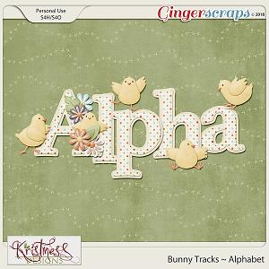 Bunny Tracks Alphabet