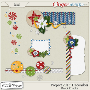 Project 2013:  December - Knick Knacks