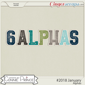 #2018 January - Alpha Pack AddOn by Connie Prince