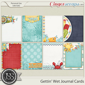 Gettin Wet Journal and Pocket Scrapbooking Cards