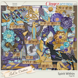 Spirit Within Page Kit