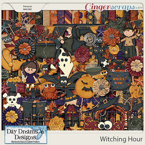 Witching Hour {Kit} by Day Dreams 'n Designs