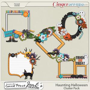 Retiring Soon - Haunting Halloween - Cluster Pack