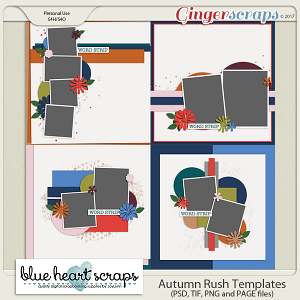 Autumn Rush Template Pack