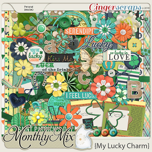 GingerBread Ladies Monthly Mix: My Lucky Charm
