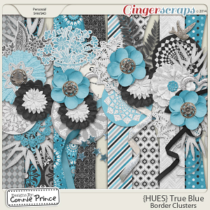 {HUES} True Blue - Border Clusters