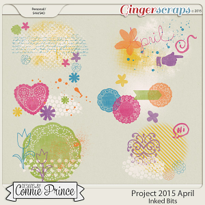 Project 2015 April - Inked Bits