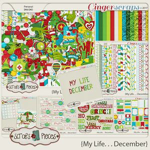 My Life - December Bundle by Scraps N Pieces