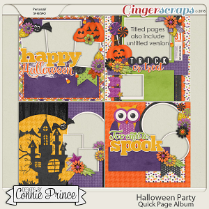 Halloween Party- Quick Pages