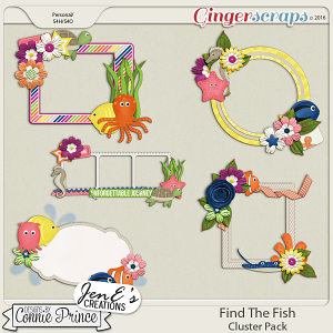 Find The Fish - Cluster Pack