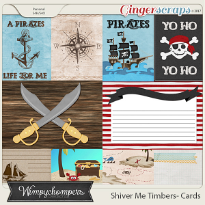 Shiver Me Timbers- Cards