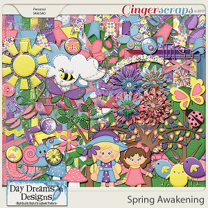 Spring Awakening {Kit} by Day Dreams 'n Designs