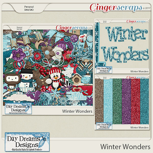 Winter Wonders {Bundled Collection} by Day Dreams 'n Designs