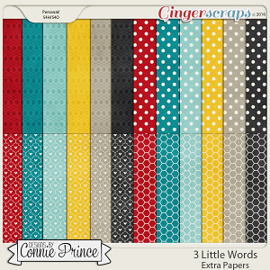 3 Little Words - Extra Papers