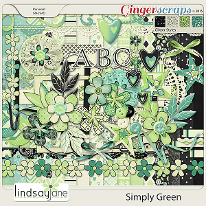 Simply Green by Lindsay Jane