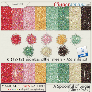 A Spoonful of Sugar (glitter pack)