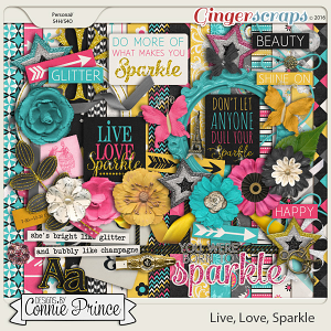 Live, Love, Sparkle - Kit