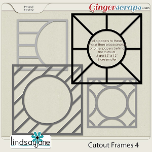 Cutout Frames 4 by Lindsay Jane