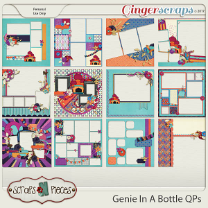 Genie In a Bottle Quick Pages