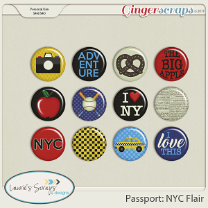 Passport: NYC Flairs