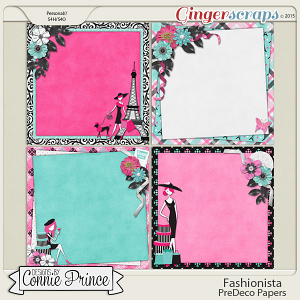 Retiring Soon - Fashionista - PreDeco Papers