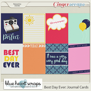 Best Day Ever Journal Cards