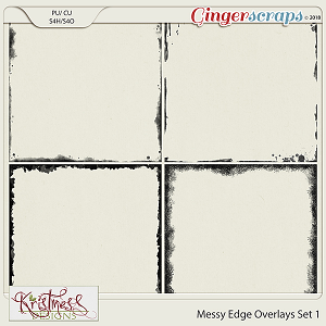 CU Messy Edge Overlays Set 1