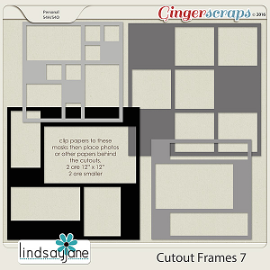Cutout Frames 7 by Lindsay Jane