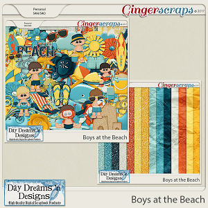 Boys at the Beach {Bundle} by Day Dreams 'n Designs