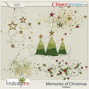Memories of Christmas Scatterz by Lindsay Jane
