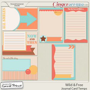 Retiring Soon - Wild & Free - Journal Card Temps (CU Ok)