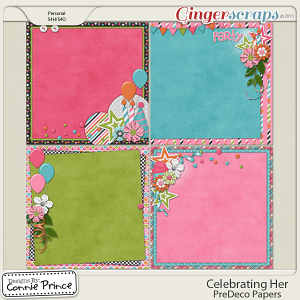 Celebrating Her - PreDeco Papers