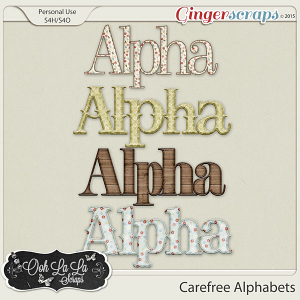 Carefree Alphabets