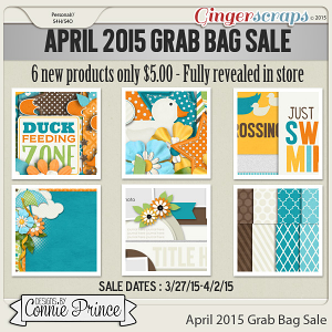 April 2015 Grab Bag Sale - Fowl Weather