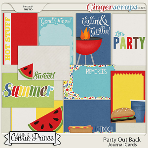 Party Out Back - Journal Cards
